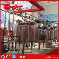 Quality CE Approved Commercial Beer Brewing Equipment Electric / Steam / Directing Hearting wholesale