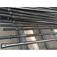 Quality Hand Held Rock Drills Integral Drill Steel , Rock Drill Rods With Chisel Tungsten Carbide Tips wholesale