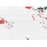 Quality Printing Flowers Textured Wall Decor Bamboo Fiber Products 340*60 CM wholesale