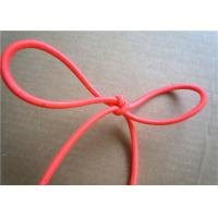 Quality Red Wax Cotton Cord , Waxed Linen Cord Spandex Clothing Accessories wholesale