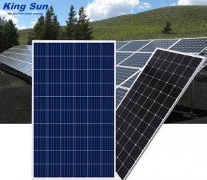 China Black 140W Monocrystalline Solar Panels , Portable Small Solar Panels on sale