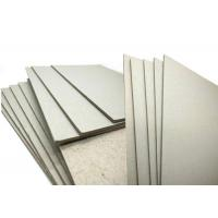Quality ONP / OCC Material 600gsm / 1mm Grey Board Gray Cardboard Paper Sheets Hard Stiffness wholesale