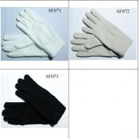 Buy cheap ladies' fleece gloves SF071-SF073 high quality and good price women gloves from wholesalers