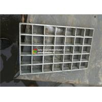 Quality Rigid Pressure Locked Steel Grating , Bearing Bar Metal Grates For Decks wholesale