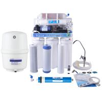 Quality 6 Stages 50GPD Kitchen Use RO Water Purification Alkalline Water Filter System wholesale