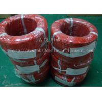Quality Large Diameter Rigid PP Plastic Hard Tubes Red / Yellow For Electrical Wire wholesale