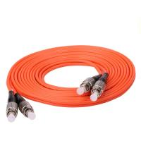 Buy cheap Indoor Outdoor FC FC Fiber Optic Jumper Cables For Cabinet FTTH / LANs from wholesalers
