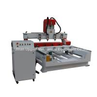 Quality 4 Spindles 4 Rotary Axis Cylinder Flat Wood Carving Machine with NK105 Control wholesale
