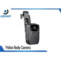 Buy cheap 64GB WIFI Portable Body Camera , DVR Infrared Police Body Worn Video Camera from wholesalers