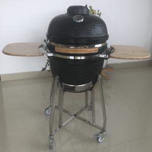 China 18 Table Bbq Infrared Kamado Pellet Smoker on sale