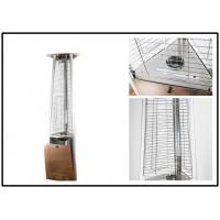 Quality Stainless Steel Outdoor Gas Patio Heater Triangle Pyramid Patio Heater Remote Controlled wholesale