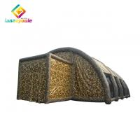 China Camouflage Pvc Inflatable Event Tent Outdoor Use Large Size Tunnel Structure on sale