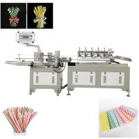 Quality Green Enviramental Colorful Paper  drinking Straw  Making Machine Product wholesale