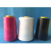Quality Ring 100 polyester spun yarn for jeans / cloth,strong polyester thread wholesale