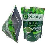 China 250g Custom Printing Coffee Bag printed stand up pouches Plastic Zipper Packaging on sale
