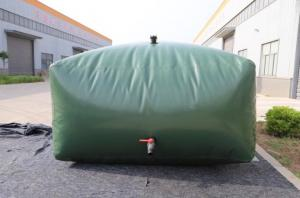 Quality 20000L Army Green Flexible Water Storage Tank For Irrigation wholesale