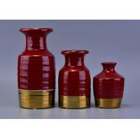 Quality Red Luxury Ceramic Aroma reed diffuser bottles bulk For Wedding Decoration wholesale