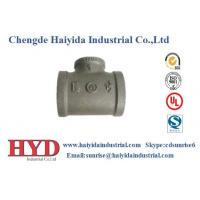 Buy cheap TEE NPT thread malleable iron pipe fitting cast iron UL factory product