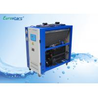 Quality 8 HP Double Condenser Portable Water Chiller Units Water Cooled Ac Unit 380V wholesale