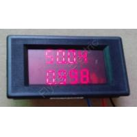 China DC LED Dual LED Digital power meter panel watt Voltage current, low price, amps to watt, 500V10A,500V50A, 30V10A, 30V50A on sale