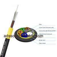 Quality Armored Outdoor Fiber Optic Cable , ADSS Long Aerial Cable Above 10 Conductors wholesale