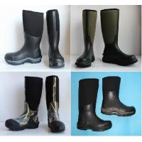 Quality various of mens rubber boots,neoprene rubber boots,waterproof rain boots,camo neoprene hunting,hiking functional boots wholesale