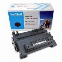 Quality Black Toner Cartridge with Chip and 10 to 35°C Operating Temperature wholesale
