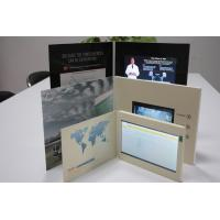 China Rechargeable Lcd Video Business Cards Full Color With LCD Sound Modules on sale