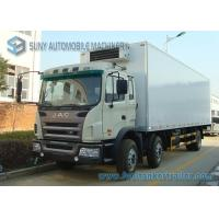 Quality JAC 20 tons freezer refrigerated truck and trailer for sale in Madagascar wholesale