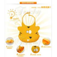 Quality FDA/LFGB approved animal design silicone baby bibs wholesale
