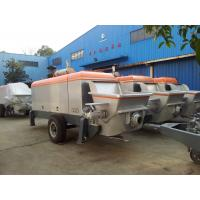 Quality 110kw Mobile Hydraulic Concrete Pump Easy To Troubleshoot And Maintain wholesale