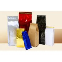 Quality AL PE Paper Full Printing Tea Bags Packaging Square Bottom Stand Up Zipper for sale