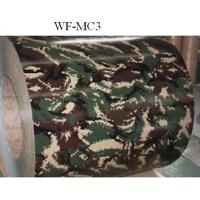 China Camouflage Patterned Color Coated Steel Coil , Galvalume Steel Coil on sale