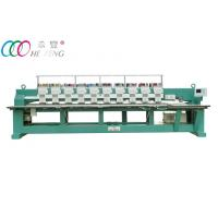 Quality Towel / Garment Industrial Automatic Flat Embroidery Machine 10 Head 9 Needle wholesale