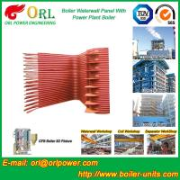 Quality Condensing Gas Boiler Water Wall Panels , Boiler Membrane Wall Tube wholesale
