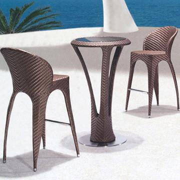 Cheap outdoor rattan garden furniture outdoor furniture bar furniture (BF-007) for sale