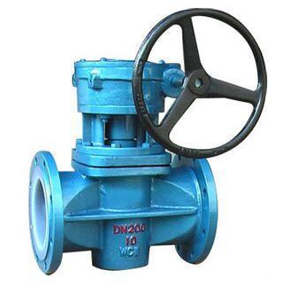 Fluorine plug valve X43F46-10C