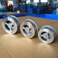 Quality GG25 Cast Iron Stainless Steel Wafer Flanged CL150 CL300 Non-slam Nozzle Check Valve wholesale