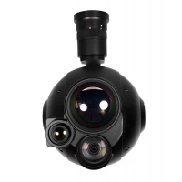 China Triple Gimbal Integrated with  30*Zoom Optical and 2 thermal Image cameras with Target locking System on sale