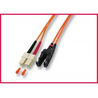 Quality Flame Resistant Fiber Optic Cable Patch Cord RoHS Compliant Easy Installation wholesale