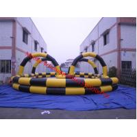 Quality Inflatable air track air race track inflatable go carts track wholesale
