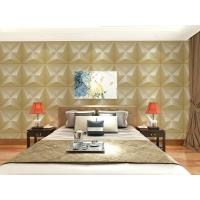 Quality Embossed Wall Surface 3D Textured Wall Panels Removable Wall Sticker for Living Room wholesale