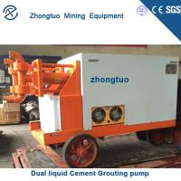 China Hydraulic grout pumps for skid steer suppliers on sale