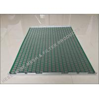 China Professional Shale Shaker Screen Light Weight SS304 / SS316 Raw Material on sale
