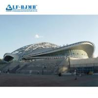 Quality Sports Center Steel Structure Building Architectural Stadium Roofing Design Construction wholesale