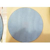 Quality 304 material 40 micron stainless steel sintered porous disc filter mesh wholesale
