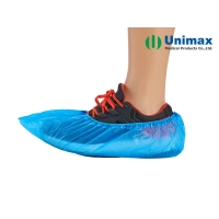 China LDPE HDPE Disposable Non Woven Shoes Cover Waterproof on sale