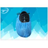 Quality Blue Anti - Skid PP Non Woven Sterile Shoe Covers Disposable / Comfortable wholesale