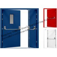 Quality Galvanized Industrial Hollow Steel Fire Doors For Residential Application wholesale