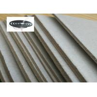 Cheap Mixed Pulp Unbleached Laminated Grey Board for Stationery / Mosquito Coil for sale
